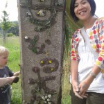 14. mother earth in Japanese caligraphy