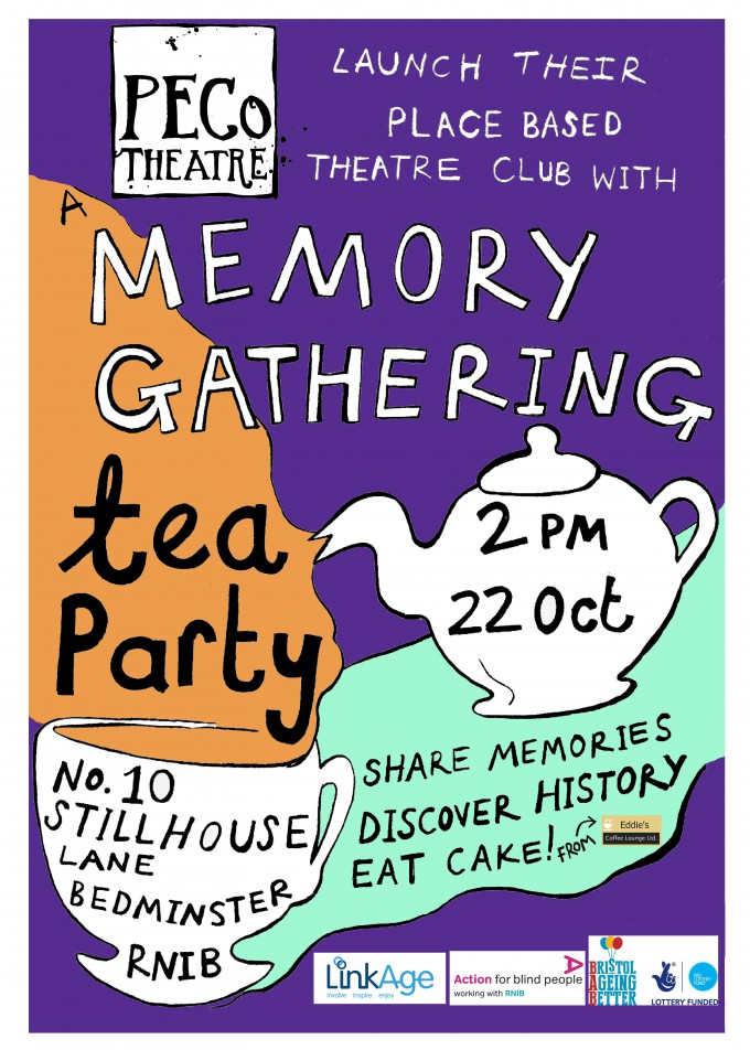 RNIB Memory Gathering Tea Party