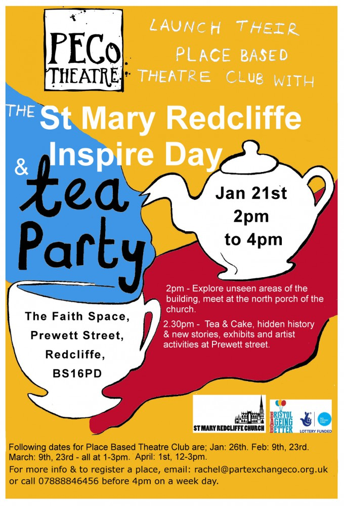 St Mary Redcliffe Inspire day and Tea Party